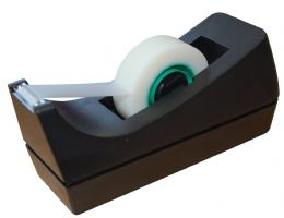 5 Star Scotch Sticky Tape Cellotape Dispenser For Rolls Up To 33m x 19mm Black